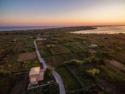 villa nissos corfu issos landscape 2